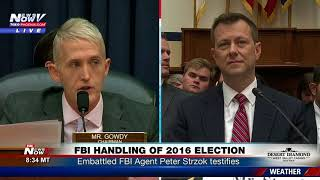 """TEXTBOOK BIAS"" Blistering Opening Statement From Trey Gowdy On FBI Agent Peter Strzok"