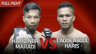 [HD] Hafid Nur Maradi vs Laode Abdul Haris || One Pride Pro Never Quit #26
