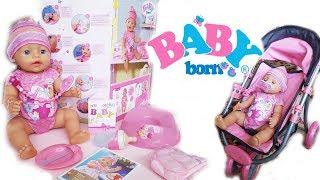 Открываем куклу Беби БонBaby Born ЂЂЂ Видео для девочек