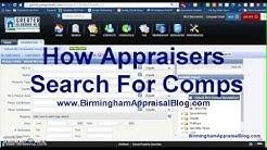 How appraisers choose comps