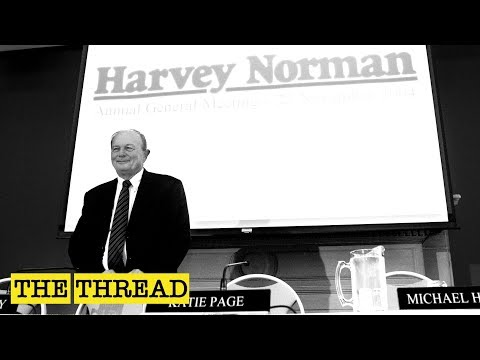 Gerry Harvey On The Early Days Of Founding Harvey Norman