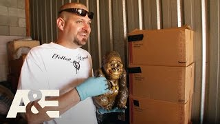 Storage Wars: Back to the Locker: Jarrod & Brandi's Interesting Finds - Part 1 | A&E
