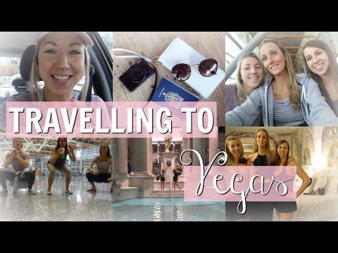 Flying To Las Vegas - Airport & Flight Shenanigans + Our First Night | Las Vegas Travel Vlog