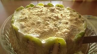 Отзыв торт без выпечки, очень вкусный.