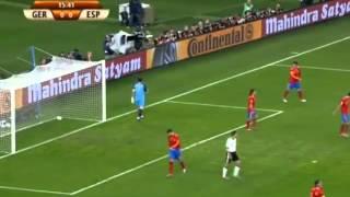 españa vs alemania semifinal sudafrica 2010 resumen completo