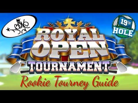 Golf Clash, Royal Open Tournament, Rookie Course Walkthrough, Club/Ball Guide/Tutorial