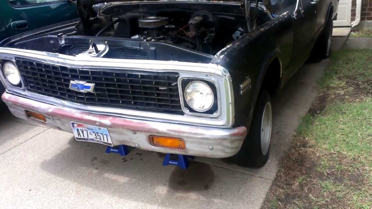 Truck chevy c10 project trucks : 1972 longbed chevy c10 rat rod project truck - YouTube