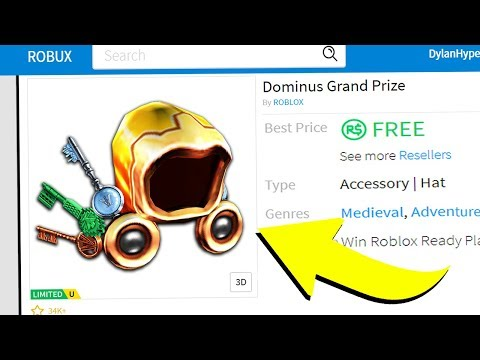 ONLY ONE ROBLOX PLAYER CAN GET THIS DOMINUS!! (Roblox Ready Player One)