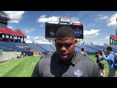 Quinnen Williams, Alabama DT, Talks Attributes At 2019 NFL Draft