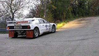 Best of lancia 037 rally race car / pure engine sound ( full HD )