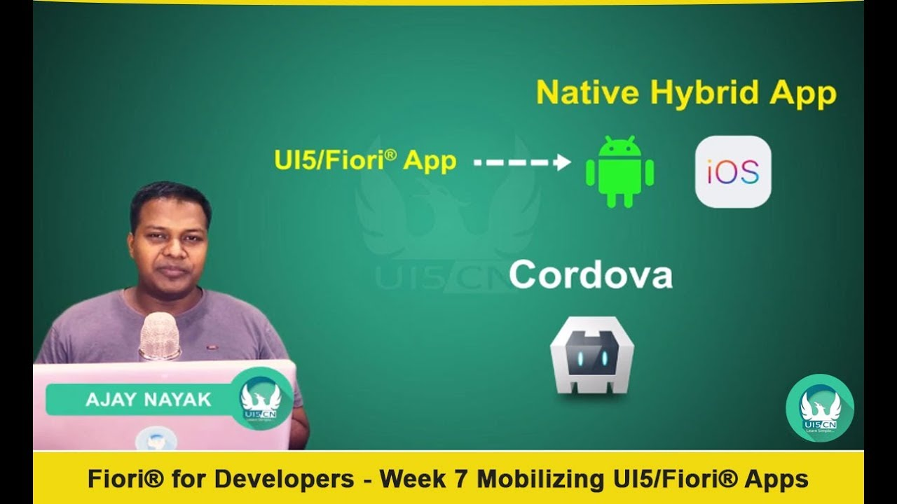 Fiori 10 Exercises.Mobilizing Ui5 Fiori Apps With Cordova With Barcode Scan And
