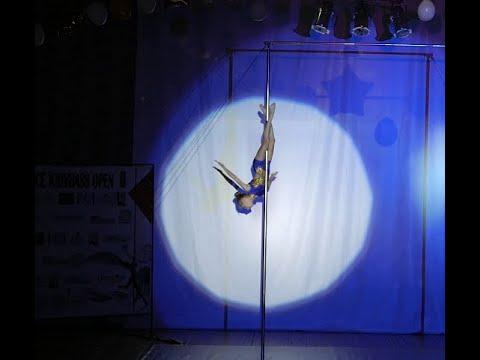 Mihalchuk Diana (pole dance studio TWIKS). Pole Dance Krivbass Open 2019