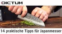 14 Tipps für Japanmesser - Gebrauch, Pflege, Aufbewahrung japanischer Messer