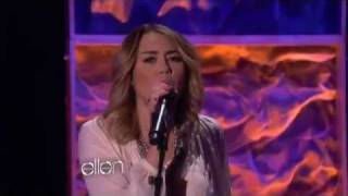 "Miley Cyrus performs ""You"