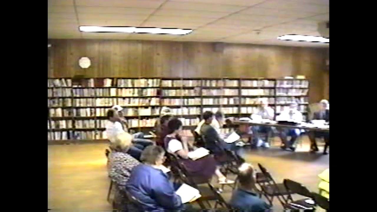 Ellenburg Town Board Meeting  6-8-98