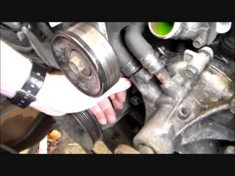 1991 Ford F250 Water Pump, Thermostat, Fan Clutch Change  YouTube