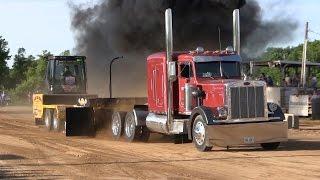 Central Illinois Truck Pullers - Semi Trucks - Truck Pulls Compilation