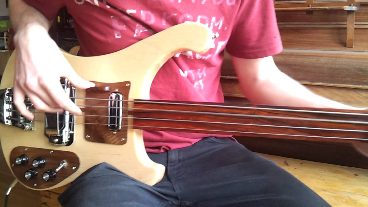Home Made Special Fretless Bass Guitar Youtube