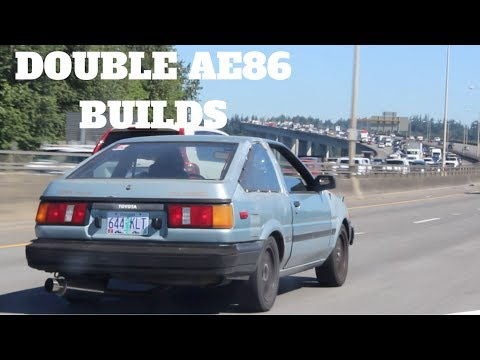 HIS NEW AE86 HATCH!!!