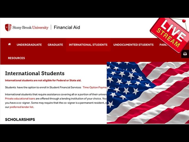 Global Excellence Scholarships At Stony Brook University (For international students in the USA)