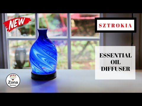 sztrokia-❤️-rainbow-glass-essential-oil-diffuser---review-✅