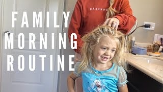 OUR MORNING ROUTINE!!! (GET READY WITH US)