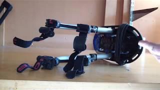 Thule Pack 'n Pedal bike pannier rack making new mounting fittings tutorial
