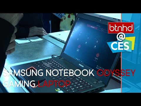 Meet The Samsung Notebook Odyssey Gaming Laptop!