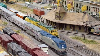 Running Trains at BSMRM (Railfanning Model Trains)