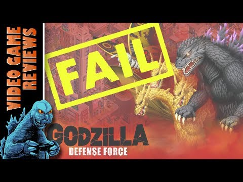 Godzilla Defense Force (Mobile App) – MIB Video Game Reviews Ep 21