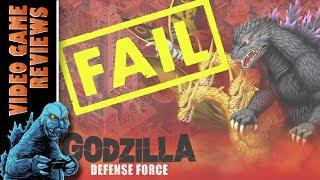 Godzilla Defense Force (Mobile App) - MIB Video Game Reviews Ep 21