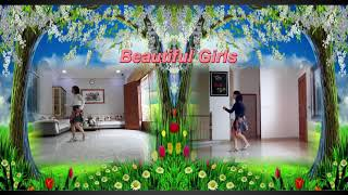 Beautiful Girls - Line Dance | Choreo by Vitri Sudjati (INA) | Line dance by #RosesLineDance