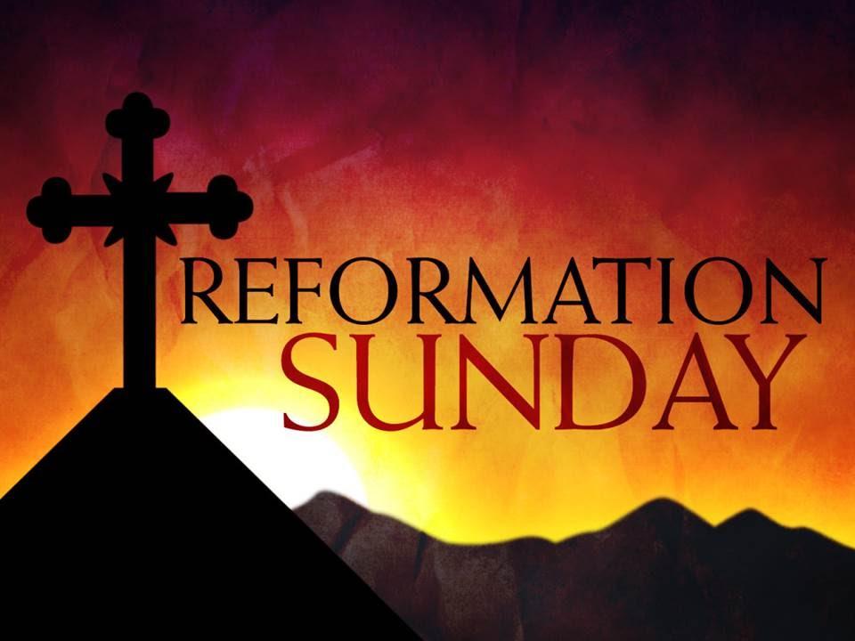 Image result for reformation sunday