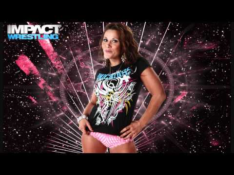 Mickie James 1st TNA Theme Song 'Hardcore Country' With Arena Effects