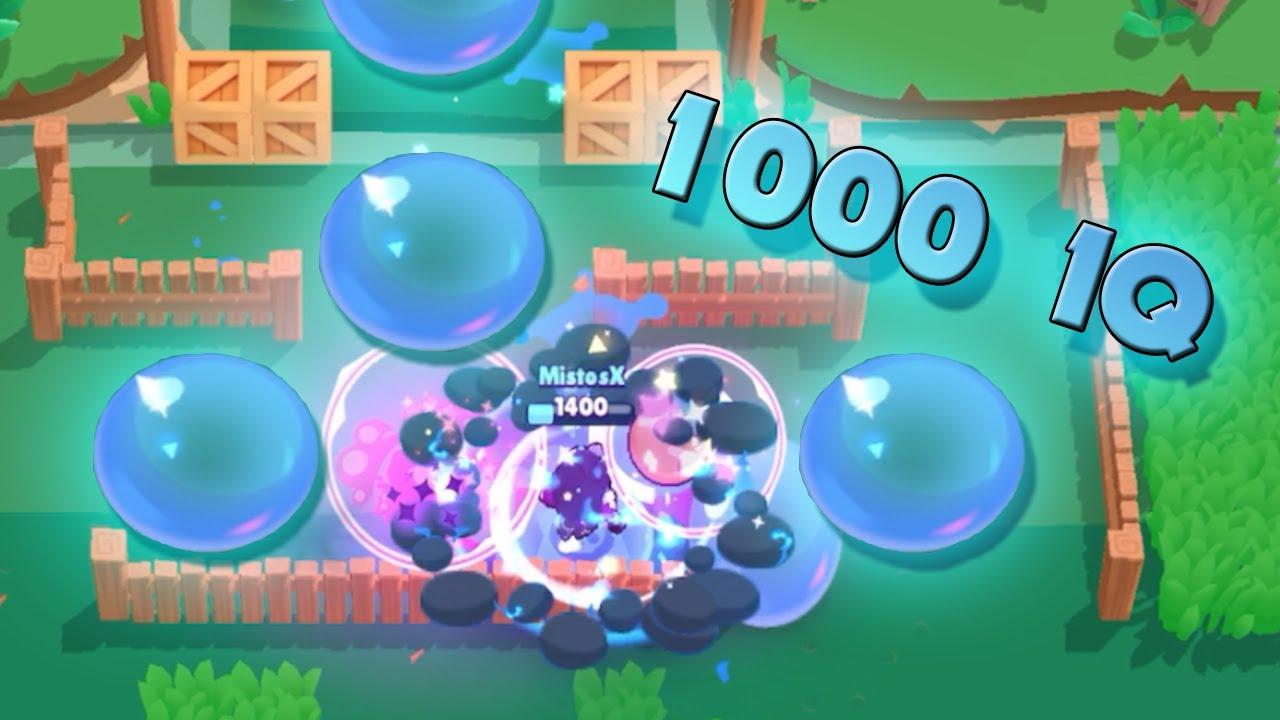 1000 IQ BIBI -  Epic and Funny moments Brawl Stars #3