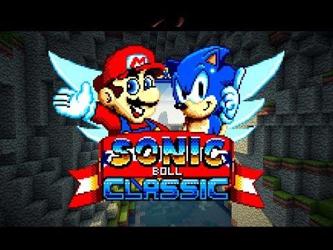 Sonic Boll Classic - K.T.E In The Minecraft Realm!