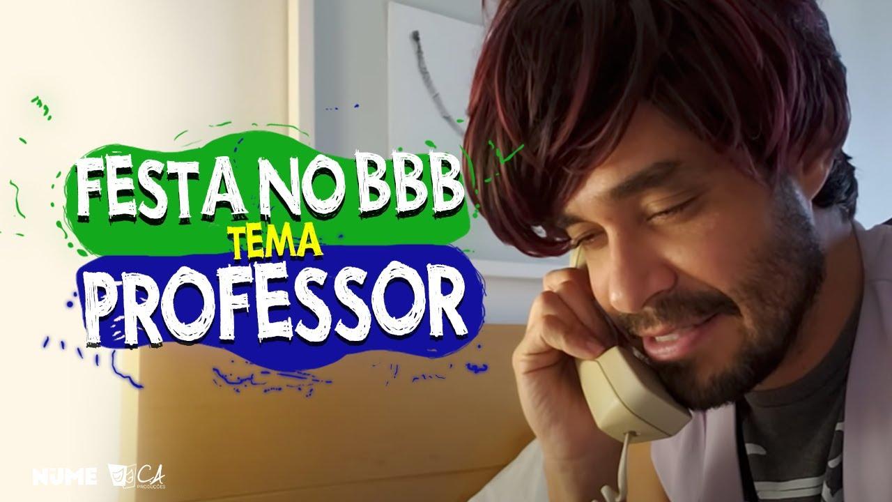 O tema da festa do João, líder do BBB, vai ser professor! Quero só ver!
