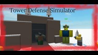 Tower Defense Simulator|| ROBLOX GAMEPLAY
