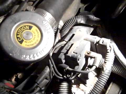 Oil Pressure Switch >> Fiero V6 oil pressure sensor - YouTube