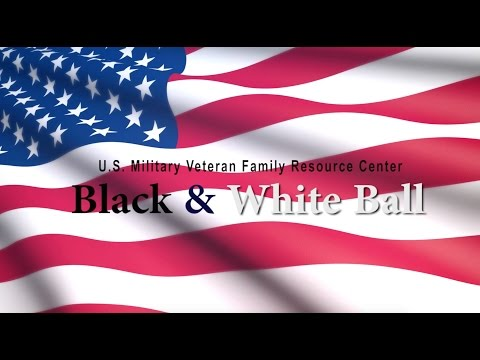 U.S. Military Veterans Family Resource Center - Black & White Ball