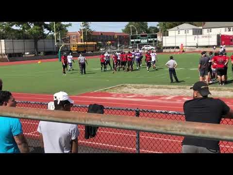 Information technology High school vs Adlai Stevenson football 2018 part 1