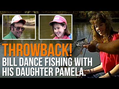 THROWBACK! Bill Dance Fishing With His Daughter Pamela.