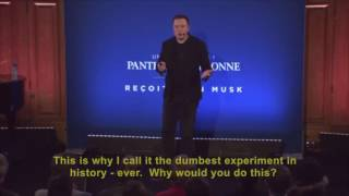 Elon Musk's Unbelievably Simple 12-minute Killer Break Down on Climate Change