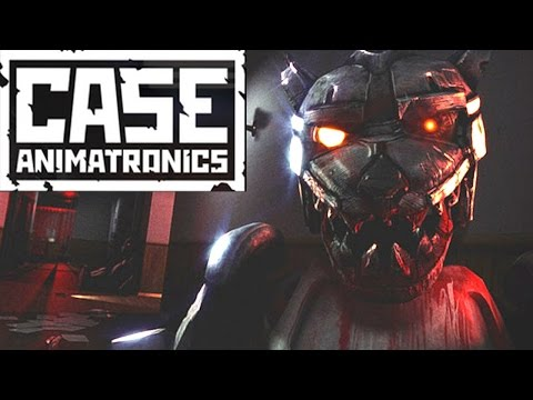 Case: Animatronics - ATTACK OF THE FAT ROBOT WOLF (Indie horror gameplay)