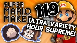 Super Mario Maker: Bullet Ball - PART 119 - Game Grumps