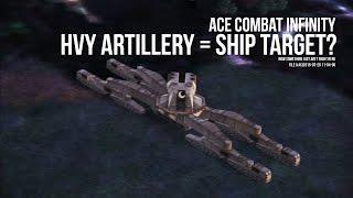 Ace Combat Infinity - LASM vs HVY Artillery thumbnail