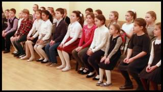 Открытый урок по хору