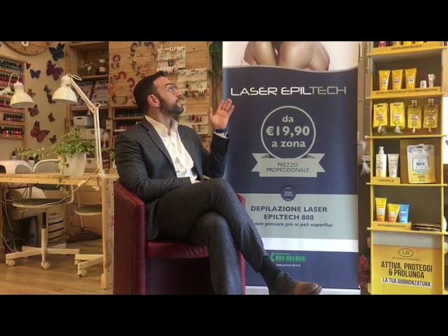 Videotestimonianza di un cliente del Centro Estetico Arcadia Beauty & Spa di Gerenzago