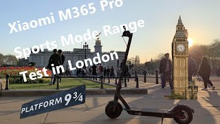Xiaomi M365 Pro Sports Mode Range Test Visit Big Ben London Eye Greenwich in One Charge 35km Vlog