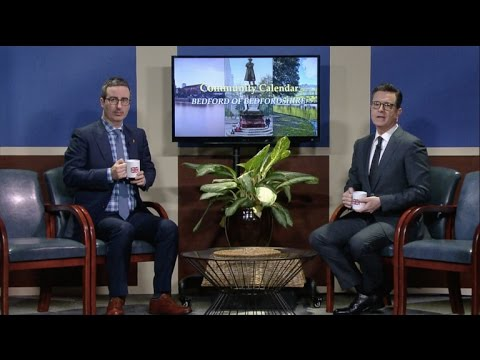 Bedford of Bedfordshire's Community Calendar With John Oliver